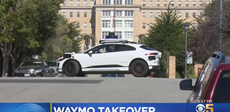 San Francisco street plagued by lost self driving cars