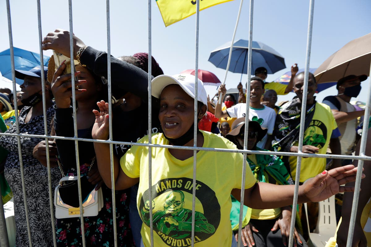 South Africa's ex-president says he was unfairly imprisoned