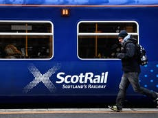 Rail workers to go on strike in Scotland during Cop26