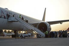 Afghan national women's footballers among 100 evacuated from Kabul by Fifa