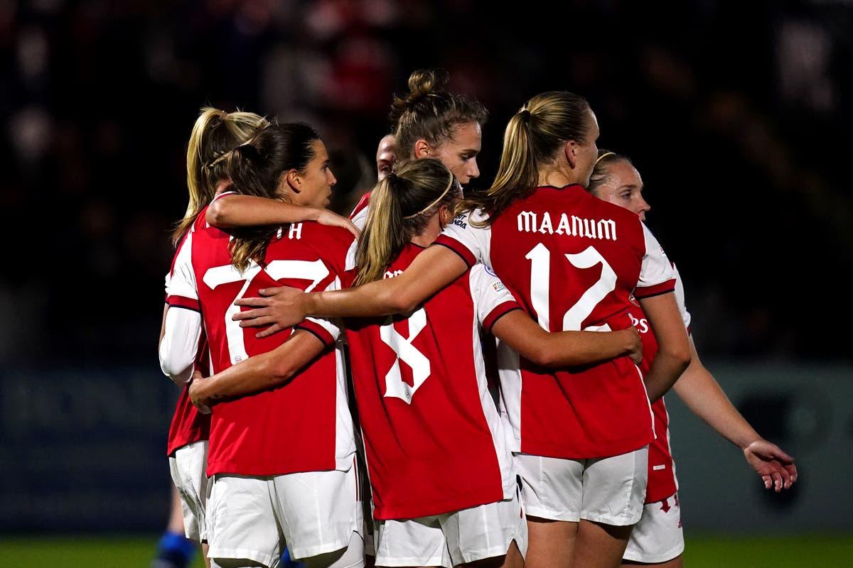 Four-star Arsenal defeat Hoffenheim in Women's Champions League