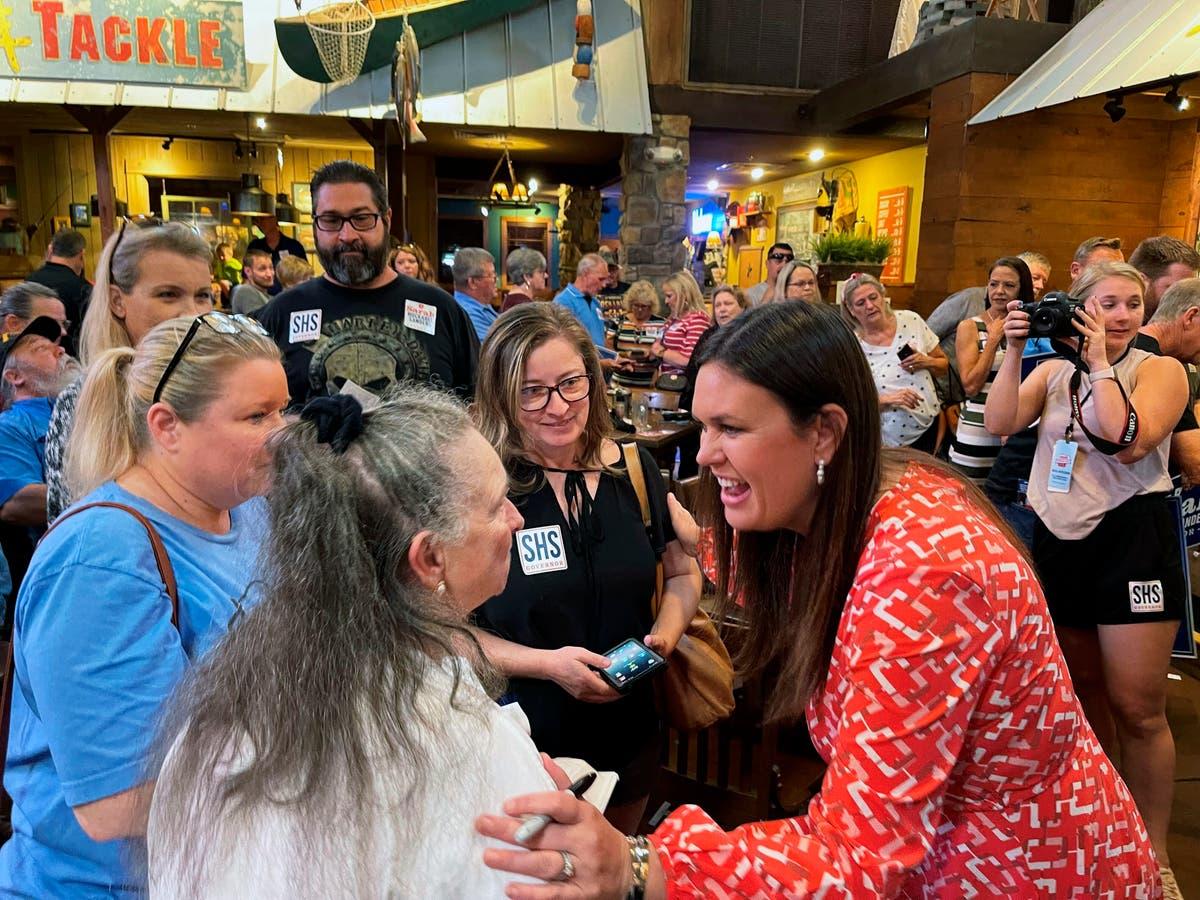 Sarah Sanders raises $2.1M in bid for Arkansas governor