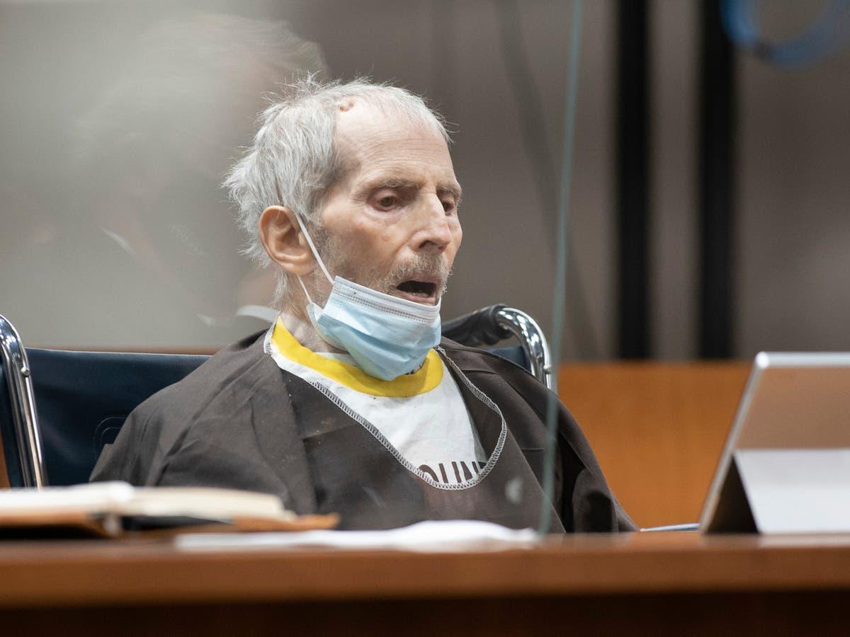 ロバート・ダーストはCovidの検査で陽性であり、判決後数日で人工呼吸器に入れられました