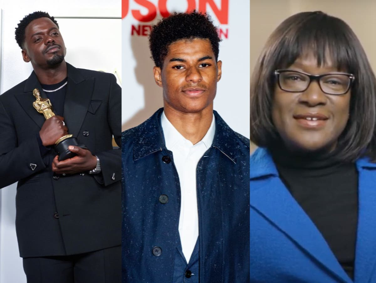 Daniel Kaluuya and Marcus Rashford named among UK's most influential Black people