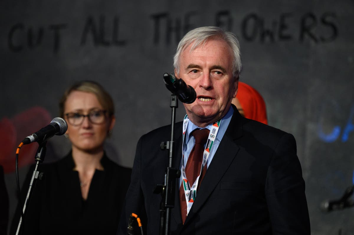 John McDonnell calls for year-long rent freeze for all tenants in England