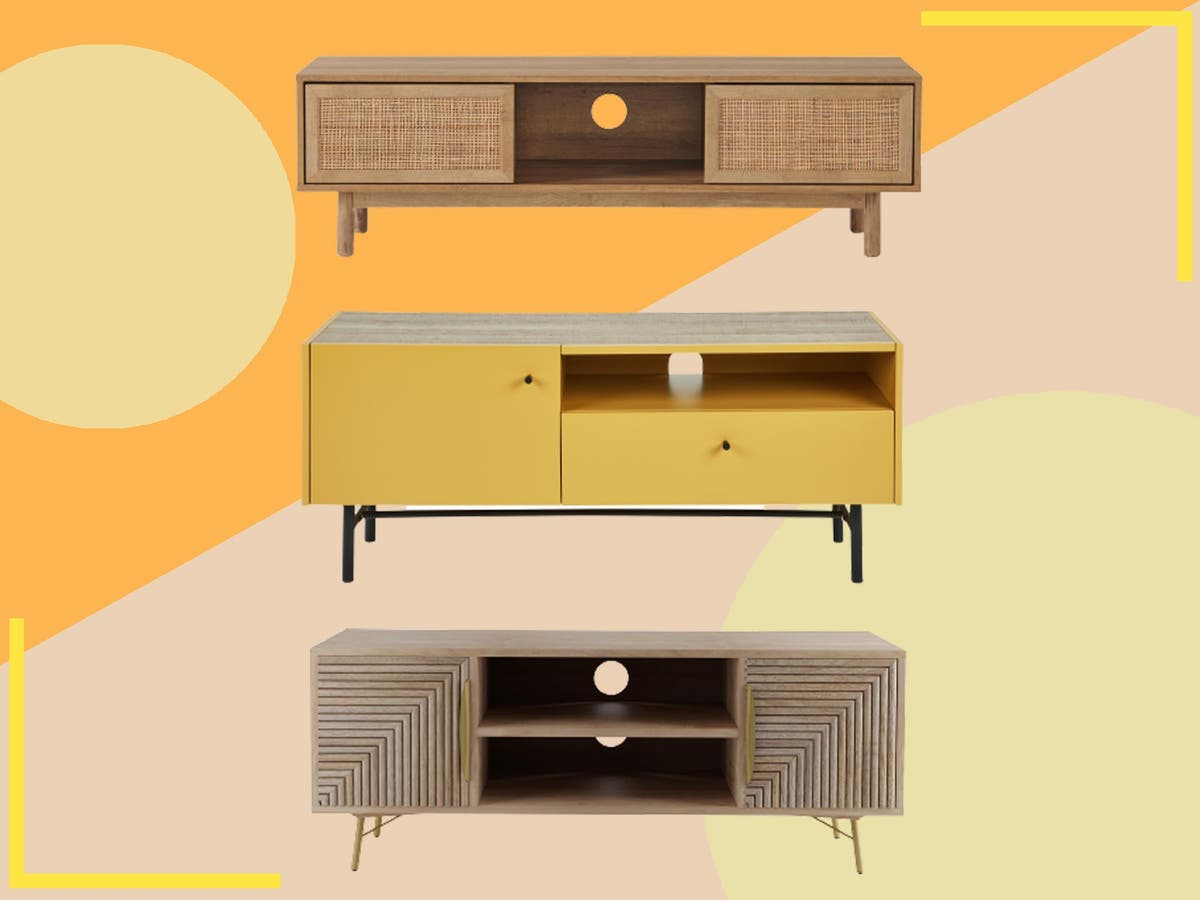 Sick of unsightly cables? These stylish TV stands have got you covered