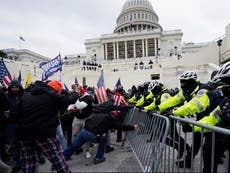US Capitol police officer pleads not guilty to helping rioter hide evidence of involvement in Jan 6