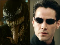 Venom 2 viewers can see Matrix 4 footage in new film