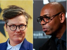 Hannah Gadsby attacks Netflix's defence of Dave Chappelle: 'F*** your amoral cult'