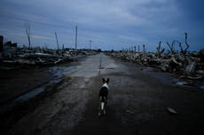 Once thriving spa, Epecuen drawing tourists to ghostly ruins