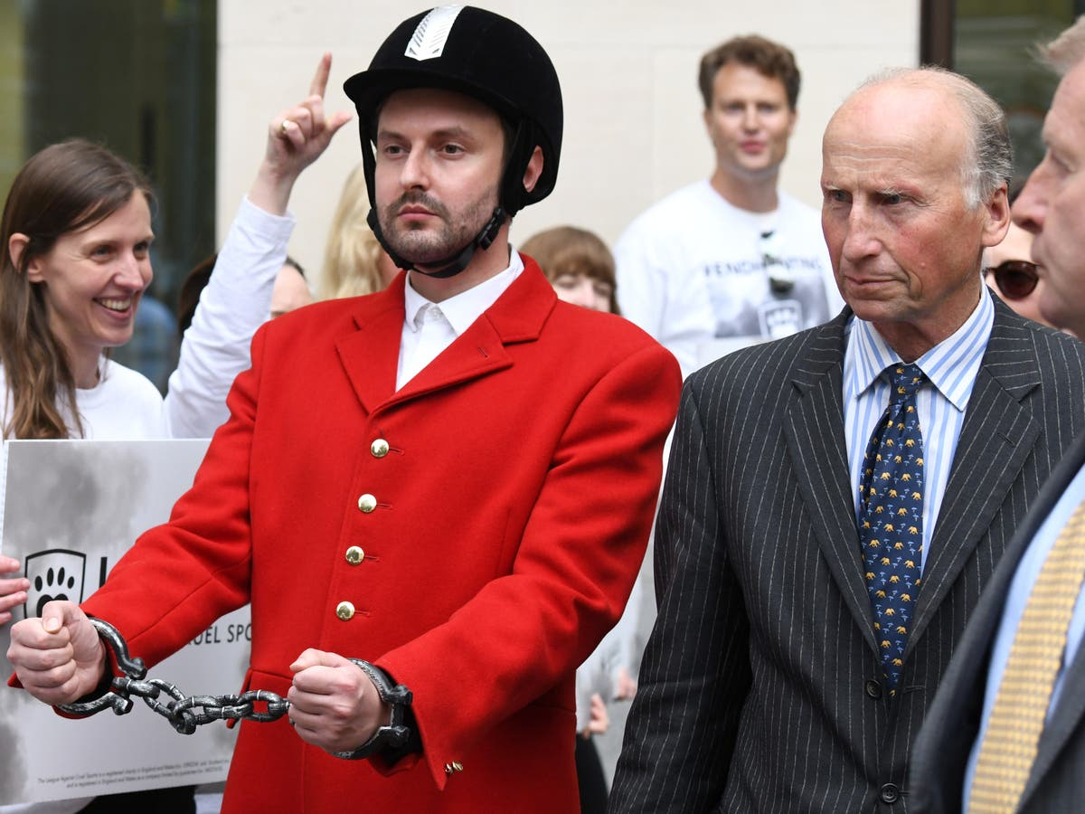 Hunting chief found guilty of encouraging hunters to illegally chase foxes