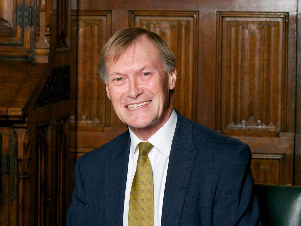 David Amess: Police declare fatal stabbing of Tory MP a terrorist incident
