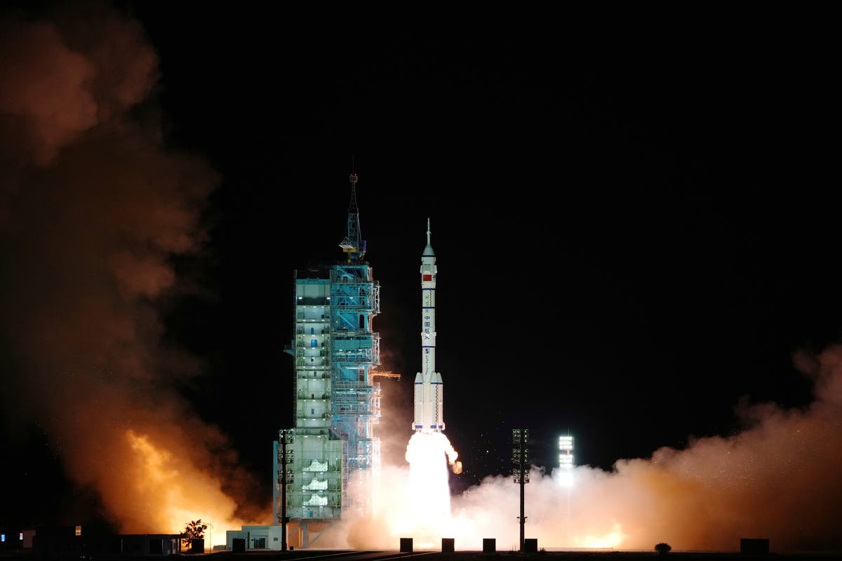 China launches 3 astronauts on 6-month space station mission