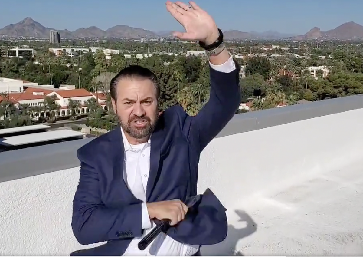 Arizona Attorney considering 2020 election audit general releases odd nunchuck video