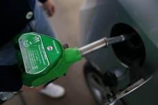 Petrol prices reach nine-year high