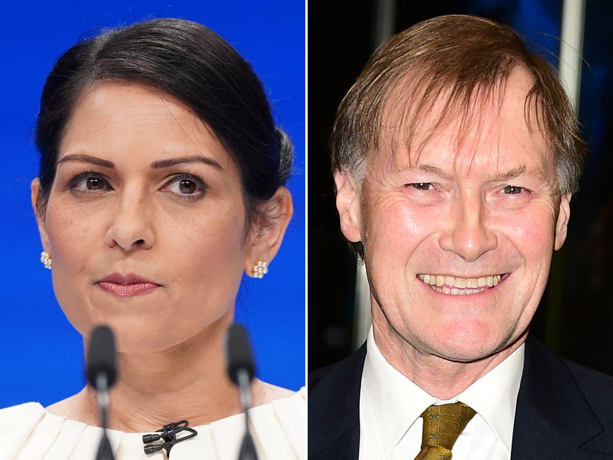 Priti Patel orders review of MP security after David Amess stabbing