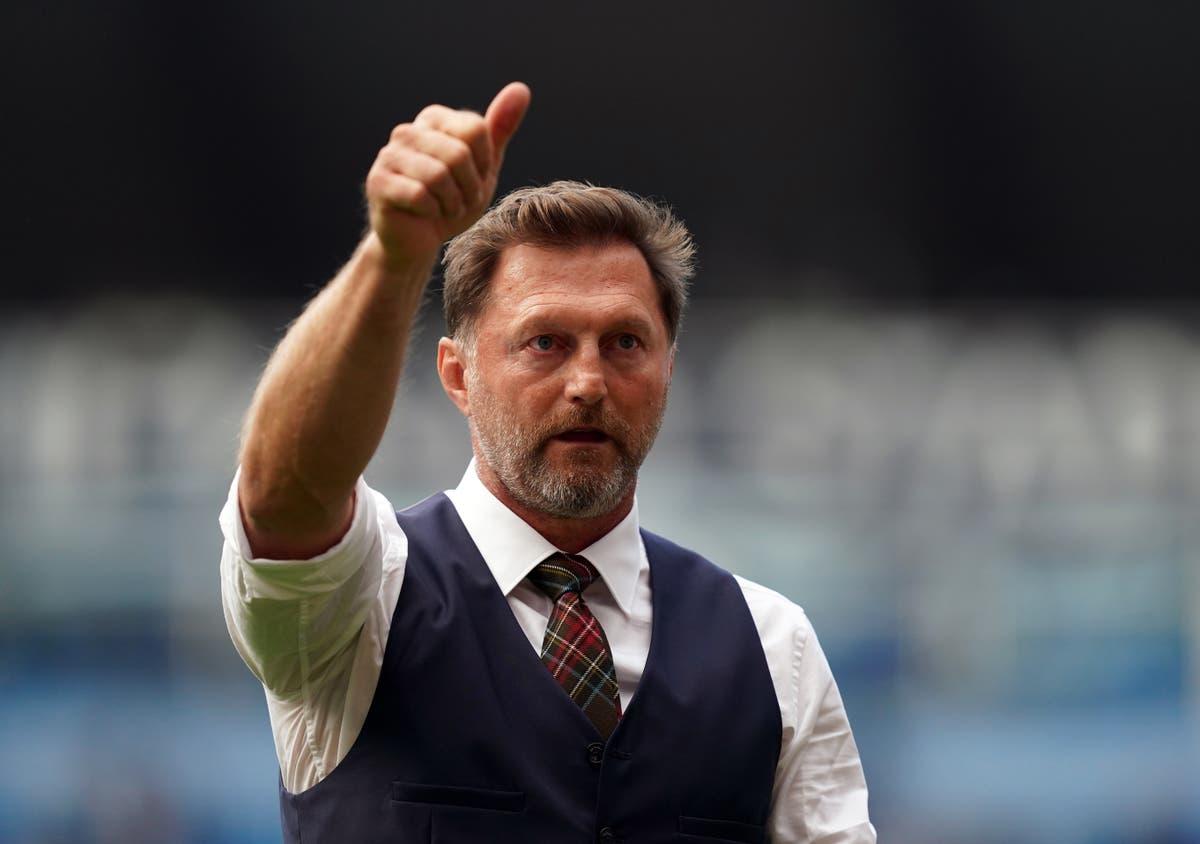 Southampton boss Ralph Hasenhuttl relaxed about position despite difficult start