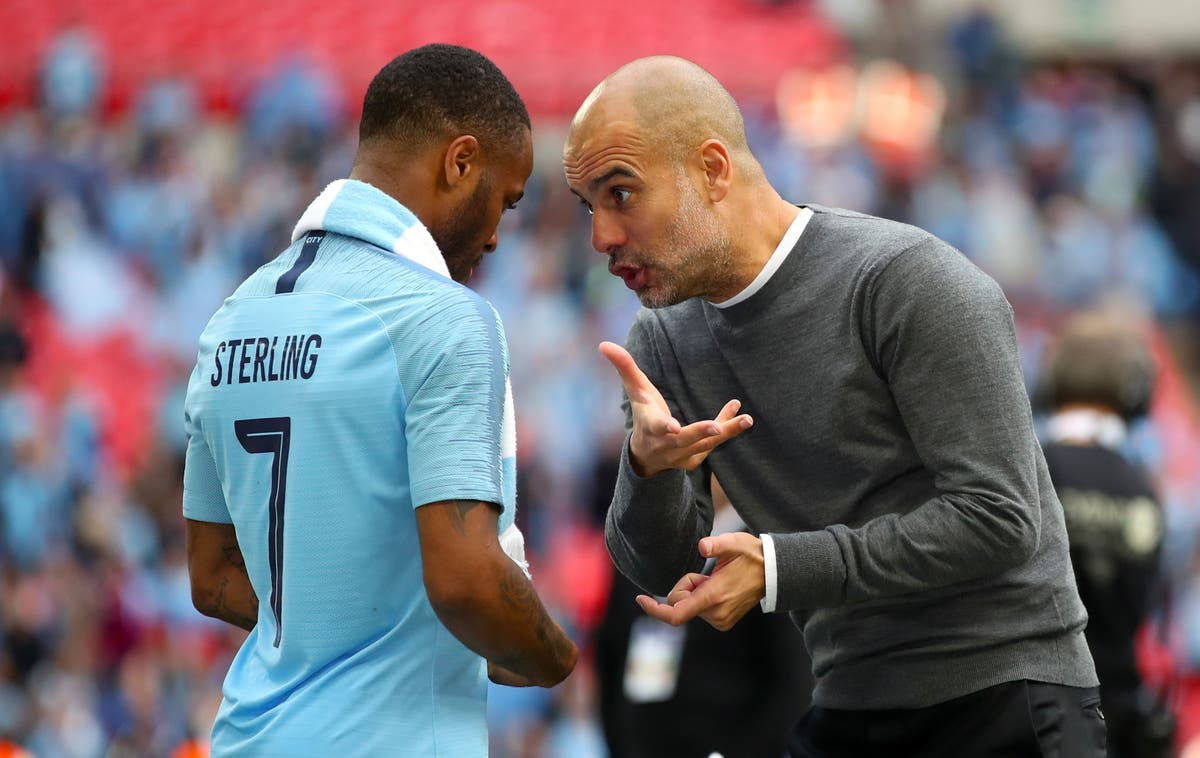 Guardiola leaves door open for Sterling and urges players to take their chance