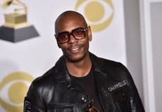 Dave Chappelle says he 'won't be bending to anyone's demands' and slams Hannah Gadsby