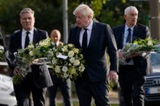 Leaders pay tribute at church where British lawmaker killed