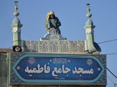 タリバーンは自爆攻撃後のシーア派モスクの安全を強化することを誓う