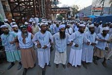 穆斯林, Hindus protest amid communal violence in Bangladesh