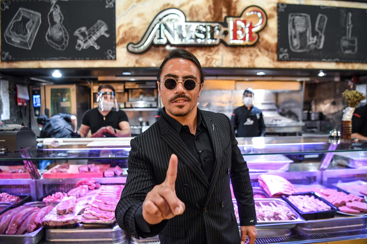 Customer's shock over £37,000 bill at Salt Bae's new restaurant has people divided