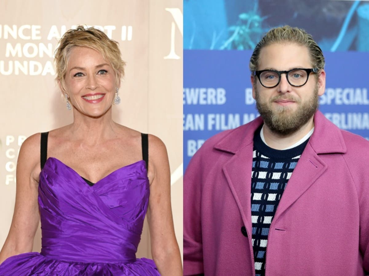 Sharon Stone criticised after commenting on Jonah Hill's appearance
