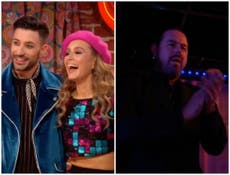 Danny Dyer supports Rose Ayling-Ellis on Strictly Come Dancing