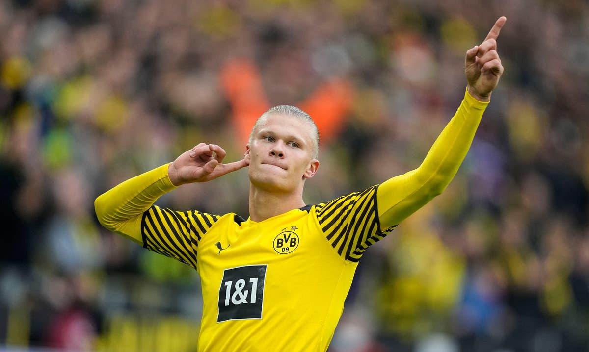Erling Haaland marks Borussia Dortmund return with brace in victory over Mainz