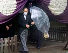 Japan's Kishida sends offering to controversial Tokyo shrine