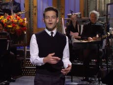 Rami Malek sympathises with villains in opening SNL monologue