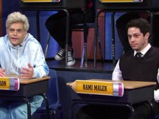 Pete Davidson and Rami Malek do uncanny impersonation of each other on SNL