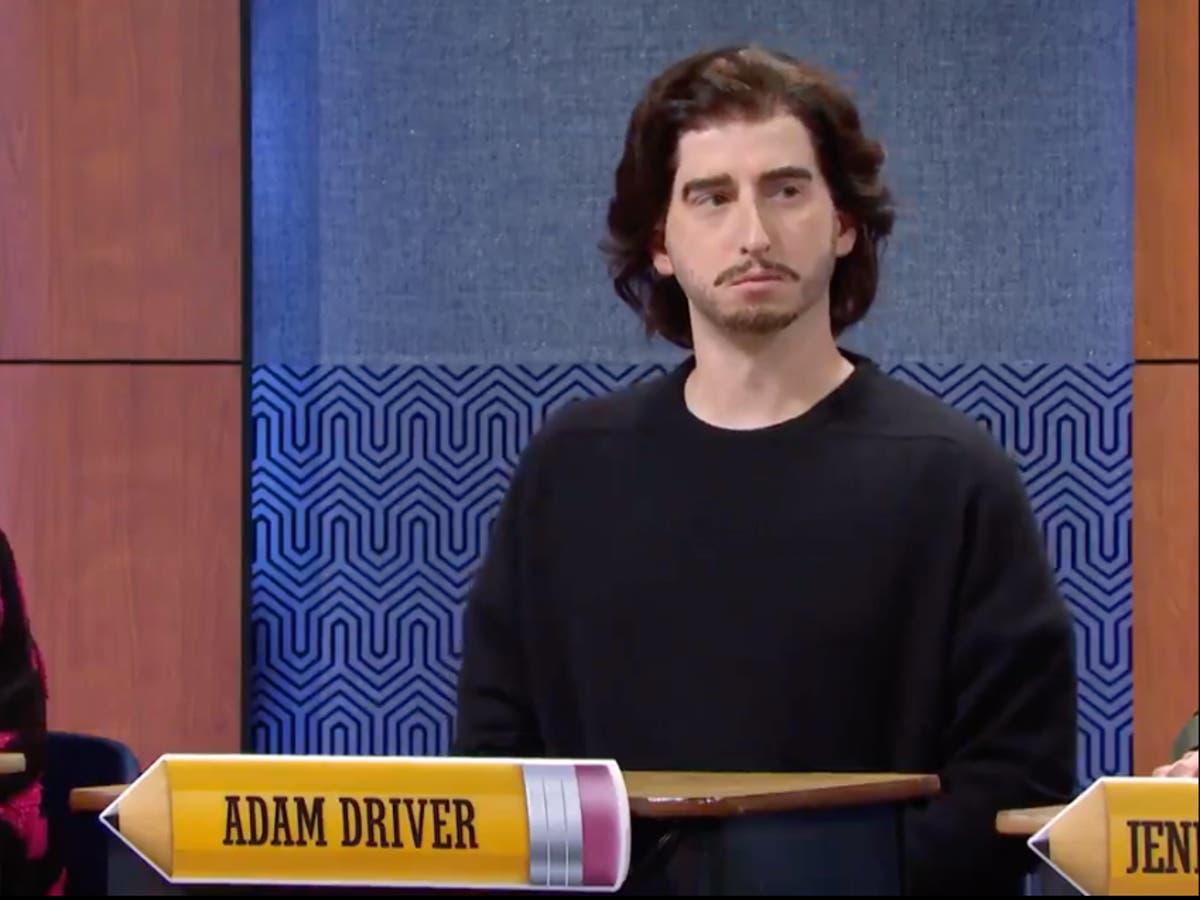 Saturday Night Live mock Adam Driver during comedy sketch
