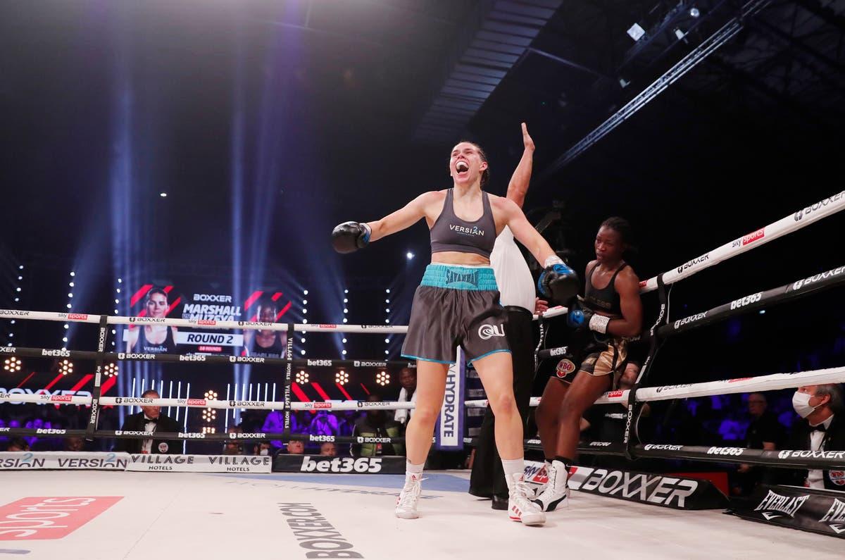 Savannah Marshall despatches Lolita Muzeya to set up superfight with Claressa Shields