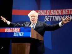 Les électeurs ne croient pas que les promesses de Boris Johnson de «passer au niveau supérieur» soient sincères, résultats du sondage