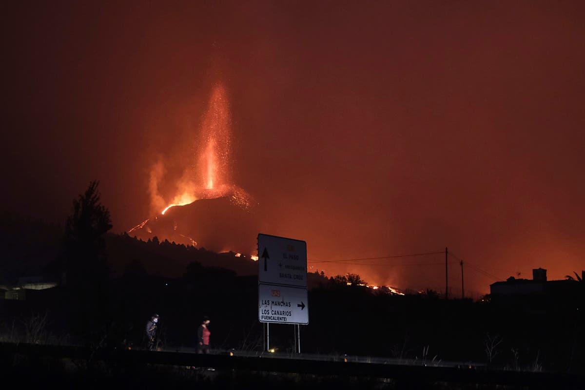 Four British men face prosecution for taking selfies near exploding volcano