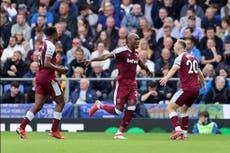West Ham vs Tottenham confirmed line-ups and team news