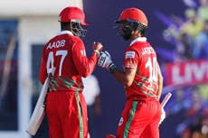 T20 World Cup opens with Oman cruising to 10-wicket win over Papua New Guinea