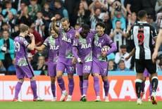Newcastle vs Tottenham LIVE: Latet Premier League updates