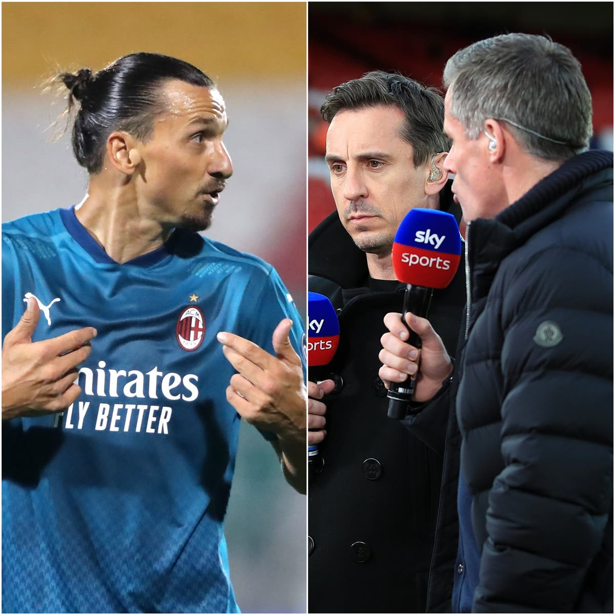 Zlatan takes flight as Neville and Carragher clash – Sunday's Sporting Social