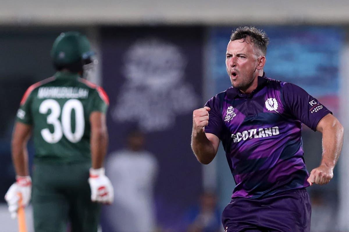 Chris Greaves stars as Scotland shock Bangladesh at T20 World Cup