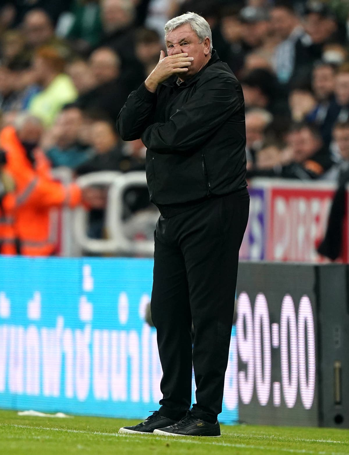 Steve Bruce confident Newcastle can avoid relegation as big day ends in defeat