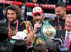 Tyson Fury identifies Joe Joyce as big threat in heavyweight division