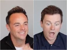 Ant and Dec react to 'amazing' I'm a Celebrity 2021 line-up