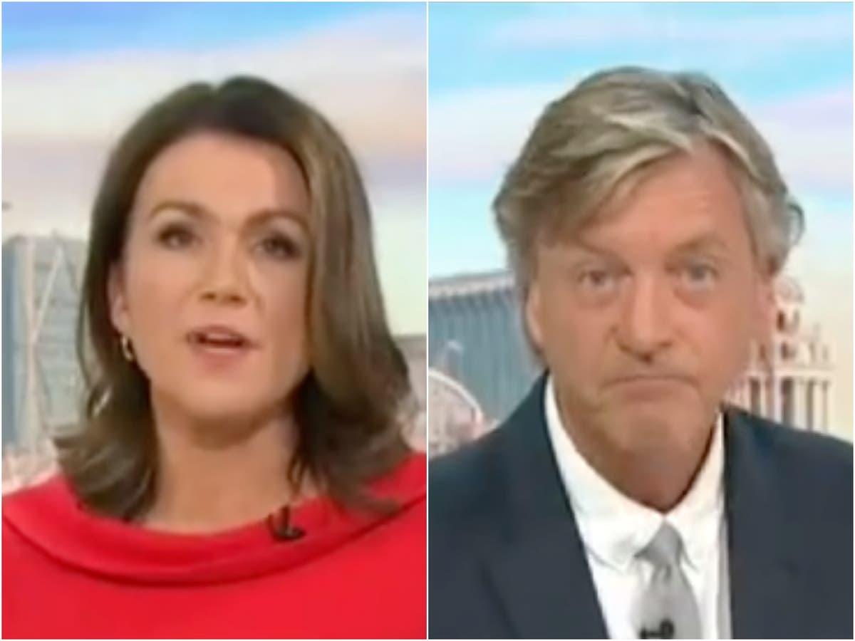 Susanna Reid het geprys vir kommentaar oor 'Covid -mislukkings' op Good Morning Britain