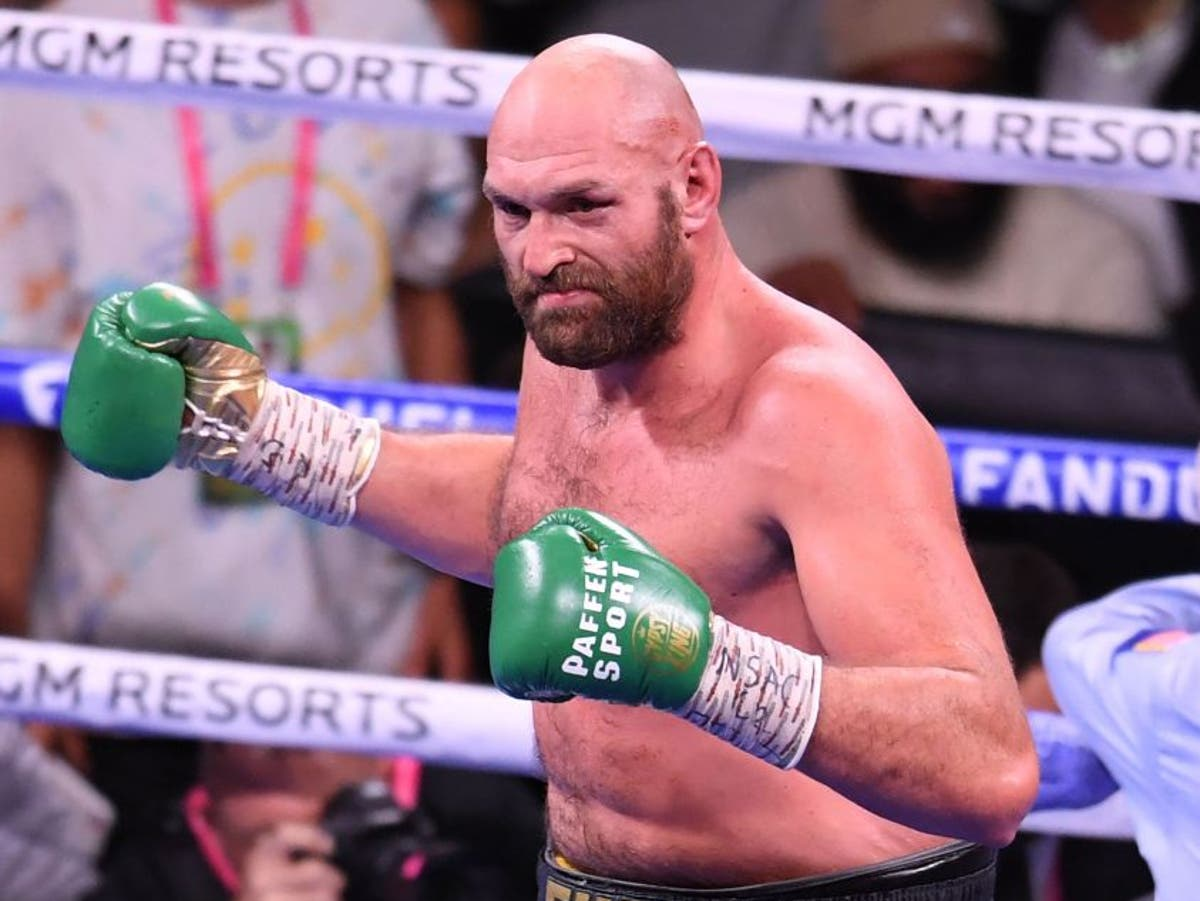 Tyson Fury wants to 'sign off his career' by defeating Anthony Joshua