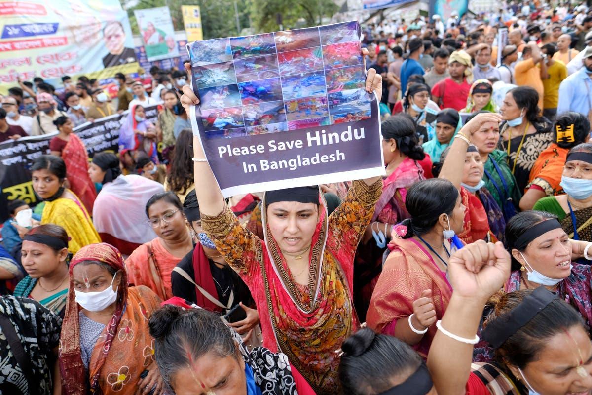 Hindus denounce violence amid new attacks in Bangladesh