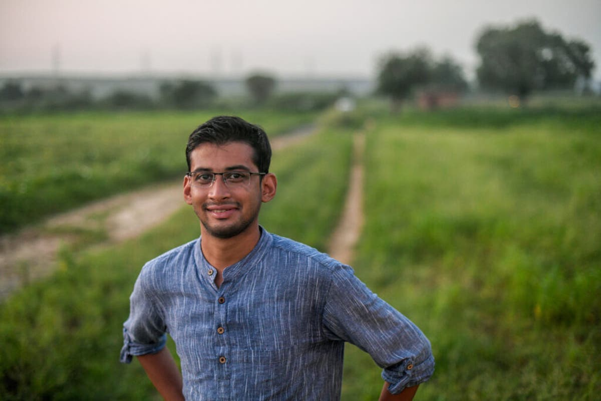 The Earthshot prize winner tackling northern India's smog crisis