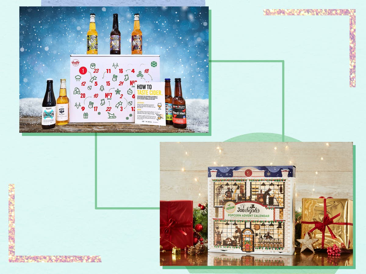 From chocolate to booze, we've found the best vegan advent calendars for 2021